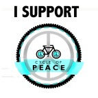 cycle of peace badge