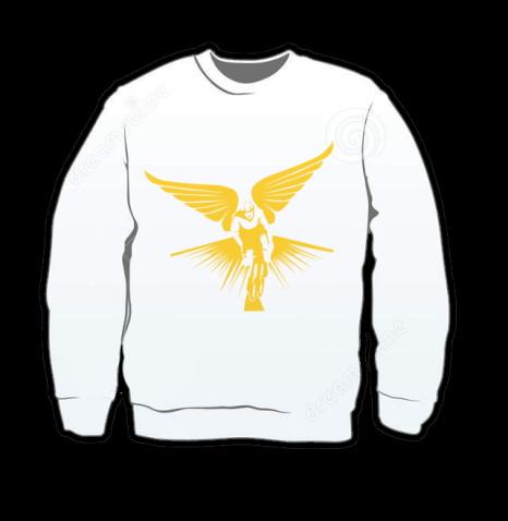 The Winged Cyclist Sweaters