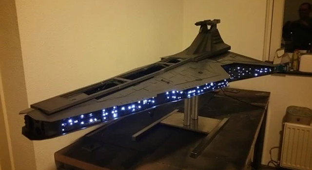 This Massive Star Destroyer is Actually A Fully Functional Gaming Computer